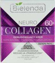 Парфюми, Парфюмерия, козметика Възстановяващ крем концентрат против бръчки 60+ - Bielenda Neuro Collagen Restoring Cream 60+