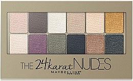 Парфюми, Парфюмерия, козметика Палитра сенки за очи - Maybelline The 24 Karat Nudes