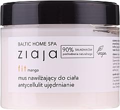 Парфюмерия и Козметика Хидратиращ мус за тяло с манго - Ziaja Baltic Home Spa FIT Mango Moisturizing Body Mousse
