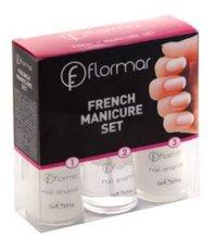Парфюми, Парфюмерия, козметика Комплект за френски маникюр №103 - Flormar French Manicure Set