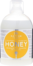 Парфюмерия и Козметика Възстановяващ шампоан за коса с екстракт от мед - Kallos Cosmetics Honey Shampoo