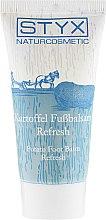 Парфюмерия и Козметика Освежаващ балсам за крака с екстракт от картоф - Styx Naturcosmetic Potato Care Foot Balm Refresh