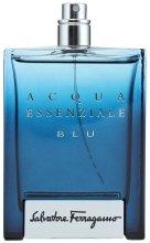 Парфюми, Парфюмерия, козметика Salvatore Ferragamo Acqua Essenziale Blu - Тоалетна вода (тестер без капачка)