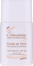 Парфюмерия и Козметика Флуид-фон дьо тен - Embryolisse Secret De Maquilleurs Liquid Foundation Spf 20
