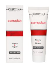Парфюми, Парфюмерия, козметика Нощен обновяващ серум за лице - Christina Comodex Renew & Repair Night Treatment