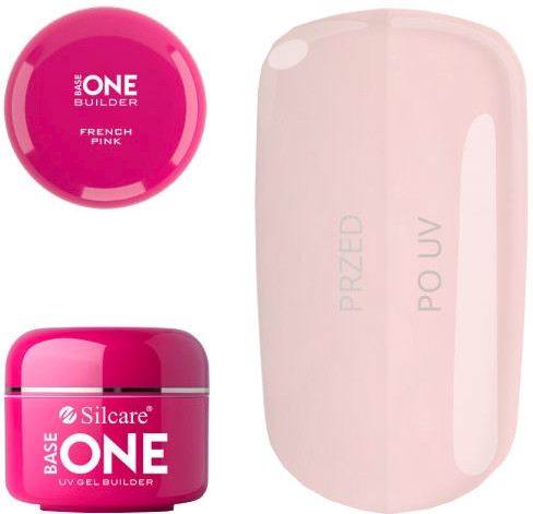Гел за нокти - Silcare Uv Gel Builder Base One French Pink