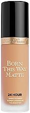 Парфюмерия и Козметика Фон дьо тен - Too Faced Born This Way Matte 24-Hour Foundation
