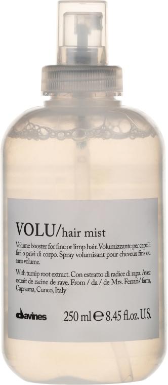 Спрей за обем на косата - Davines Volu Volume Booster Hair Mist — снимка N1
