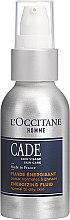 Парфюмерия и Козметика Енергизиращ флуид за лице, за мъже - L'Occitane Cade Energizing Fluide