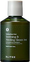 """Парфюмерия и Козметика Възстановяваща сплаш маска за лице """"Зелен чай"""" - Blithe Patting Splash Mask Soothing Green Tea"""