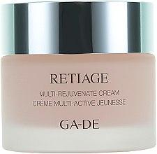 Парфюми, Парфюмерия, козметика Подмладяващ крем за лице - Ga-De Retiage Multi-Rejuvenate Cream