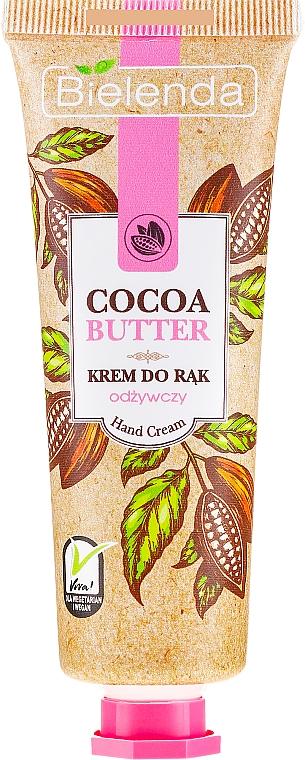 "Крем за ръце ""Какаово масло"" - Bielenda Nourishing Hand Cream"