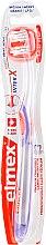 Парфюмерия и Козметика Четка за зъби, лилава - Elmex Toothbrush Caries Protection InterX Soft Short Head