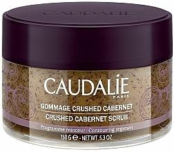 Парфюмерия и Козметика Тонизиращ скраб за тяло с масло от гроздови семки - Caudalie Vinotherapie Crushed Cabernet Scrub