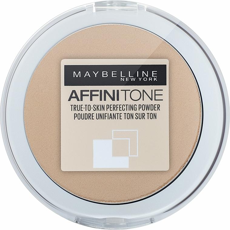 Пудра за лице - Maybelline Affinitone Powder — снимка N7