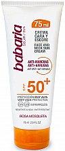 Парфюмерия и Козметика Слънцезащитен крем за лице и шия - Babaria Face and Neck Sun Cream Spf 50