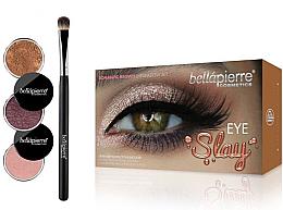 Парфюмерия и Козметика Комплект сенки за очи - Bellapierre Eye Slay Kit Romantic Brown