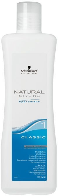 Лосион за перманентно къдрене на нормална и накъсана коса - Schwarzkopf Professional Natural Styling Classic Lotion 1