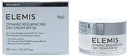 Парфюмерия и Козметика Дневен пилинг крем за лице - Elemis Dynamic Resurfacing Day Cream SPF 30