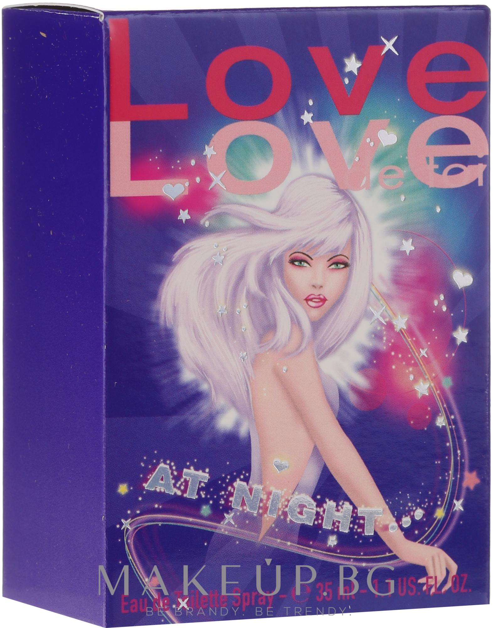 Morgan Love Love At Night - Тоалетна вода — снимка 35 ml