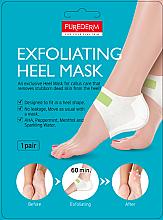 Парфюмерия и Козметика Пилинг маска за пети - Purederm Exfolaiting Heel Mask