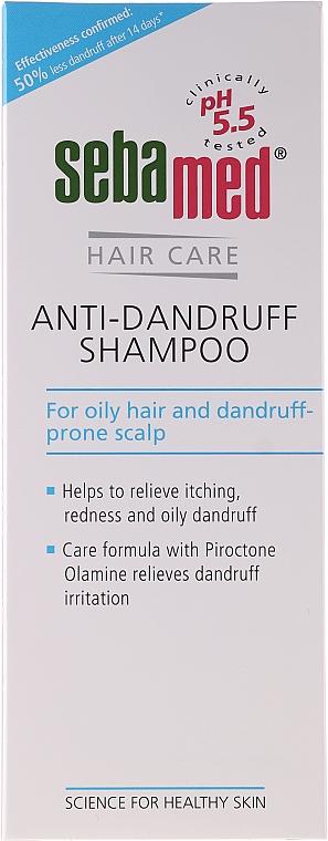 Шампоан за коса против пърхот - Sebamed Anti Dandruff Shampoo