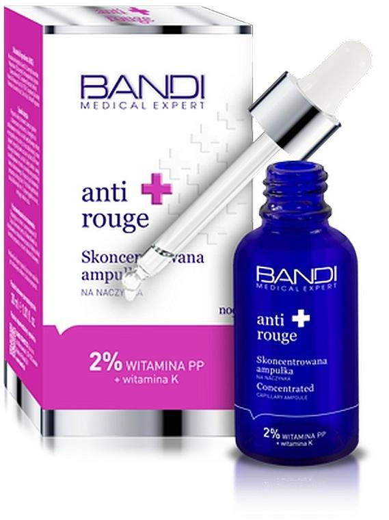 Концентрирана ампула за лице - Bandi Medical Expert Anti Rouge Concentrated Ampoule