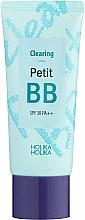 Парфюмерия и Козметика BB крем за проблемна и мазна кожа - Holika Holika Clearing Petit BB Cream