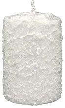 Парфюми, Парфюмерия, козметика Декоративна свещ, 7,5x10 см - Artman Christmas Candle White