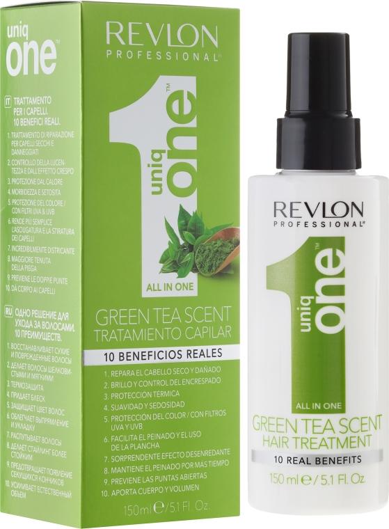 Маска-спрей за коса - Revlon Professional Uniq One Green Tea Scent Hair Treatment