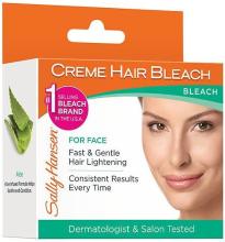 Парфюми, Парфюмерия, козметика Изсветляващ крем за лице - Sally Hansen Creme Hair Bleach For Face