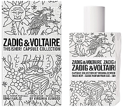 Парфюми, Парфюмерия, козметика Zadig & Voltaire This is Her Capsule Collection - Парфюмна вода