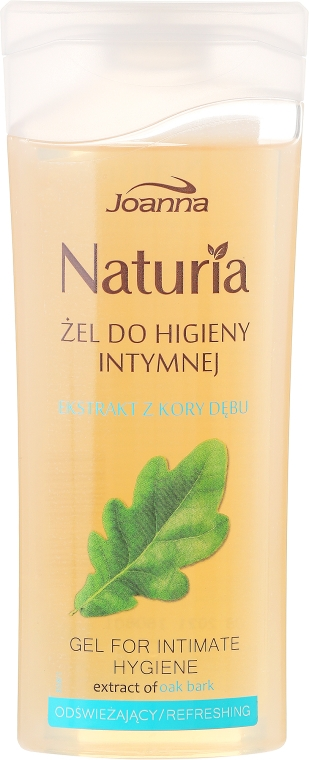 Гел за интимна хигиена с екстракт от дъбова кора - Joanna Naturia Intimate Hygiene Gel