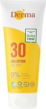 Парфюмерия и Козметика Слънцезащитен лосион - Derma Sun Lotion SPF30