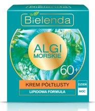 Парфюми, Парфюмерия, козметика Дневен и нощен полу-мазен крем 60+ - Bielenda Sea Algae Semi-Rich Cream 60+ Day/Night