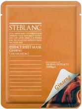 Парфюмерия и Козметика Маска за лице - Steblanc Essence Sheet Mask Ginseng