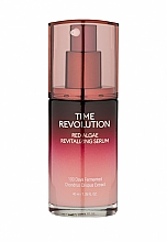 Парфюмерия и Козметика Ревитализиращ серум за лице с екстракт от червени водорасли - Missha Time Revolution Red Algae Revitalizing Serum