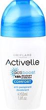 Парфюми, Парфюмерия, козметика Рол-он дезодорант антиперспирант - Oriflame Activelle Comfort Anti-Perspirant Deodorant