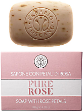 Парфюми, Парфюмерия, козметика Сапун с розови листенца - Erbario Toscano Pure Rose Soap With Rose Petals