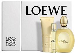 Парфюми, Парфюмерия, козметика Loewe Aire Loewe - Комплект (тоал. вода/100ml + лосион за тяло/75ml + тоал. вода/15ml)