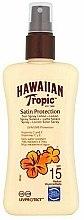 Парфюмерия и Козметика Слънцезащитен лосион за тяло - Hawaiian Tropic Protective Sun Spray Lotion SPF 15