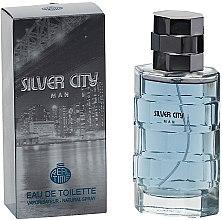 Парфюмерия и Козметика Real Time Silver City Man - Тоалетна вода