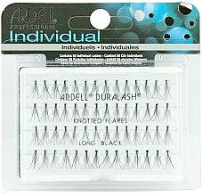 Парфюмерия и Козметика Мигли на снопчета - Ardell Duralash Naturals Knot Flare Long Black (56 Lashes)