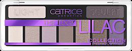 Парфюми, Парфюмерия, козметика Палитра сенки за очи - Catrice The Edgy Lilac Collection Eyeshadow Palette