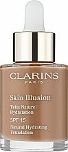 Парфюмерия и Козметика Фон дьо тен SPF 15 - Clarins Skin Illusion Foundation SPF 15