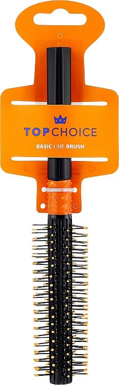 Четка за коса, 2496, черно-оранжева - Top Choice — снимка N1