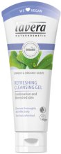 Парфюми, Парфюмерия, козметика Почистващ гел за лице - Lavera Refreshing Cleansing Gel