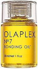 Парфюми, Парфюмерия, козметика Високо концентрирано ултра леко изглаждащо масло за коса - Olaplex №7 Bonding Oil