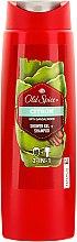 Парфюмерия и Козметика Душ гел - Old Spice Citron Shower Gel + + Shampoo