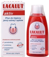"Парфюми, Парфюмерия, козметика Вода за уста ""Lacalut Activ"" - Lacalut Aktiv"